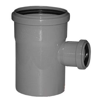 Тройник 110-50х90гр (внутр.канализация)