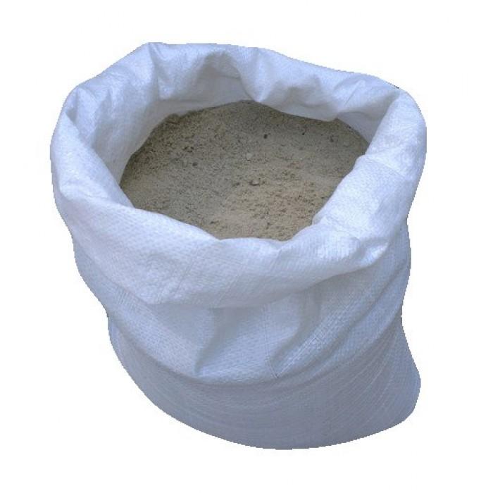 Песок речной, мешок 50кг