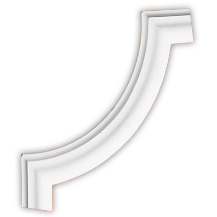 Угол декоративный Decomaster DP 304 B (размер 270х270х20)