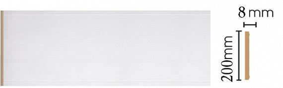 Декоративная панель Decomaster B20-118 (200х9х2400мм)