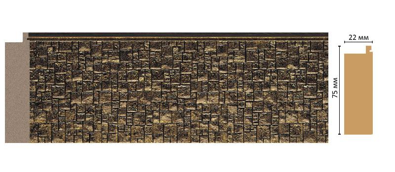 Багет Decomaster 582-26 (размер 75х18х2900)