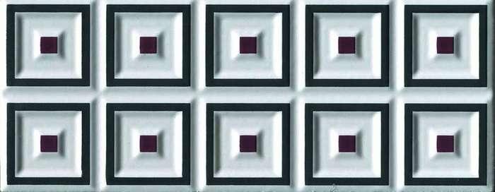 Плитка Cerasarda Parentesi/Quadra Fascia Cornice Grafite CE1045200