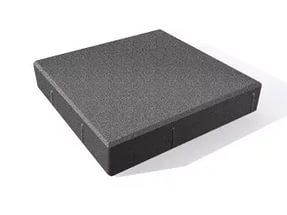 Тротуарная плитка Квадрат черный 400x400x60мм