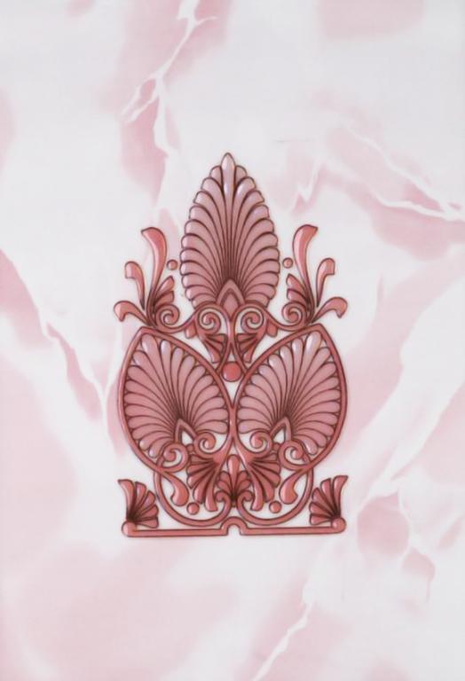 Декор Восток розовый 20х30