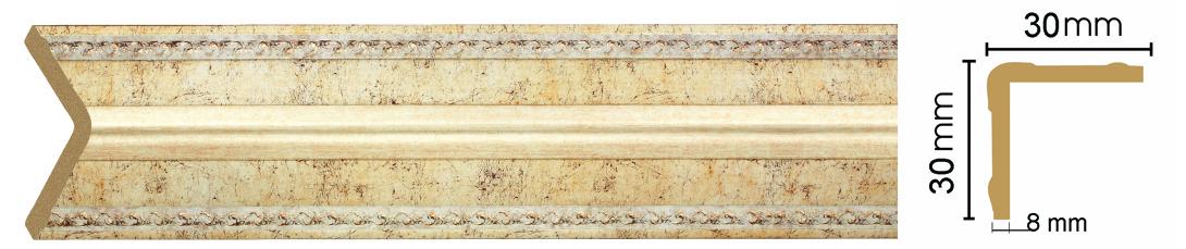 Уголок Decomaster 116-553 (размер 30х30х2400)
