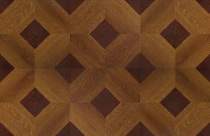 Ламинат художественный Ромб Бордо1592-4 уп.2.4м2 (33класс)