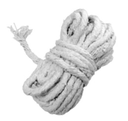 Шнур асбестовый диам.4 длина 10м