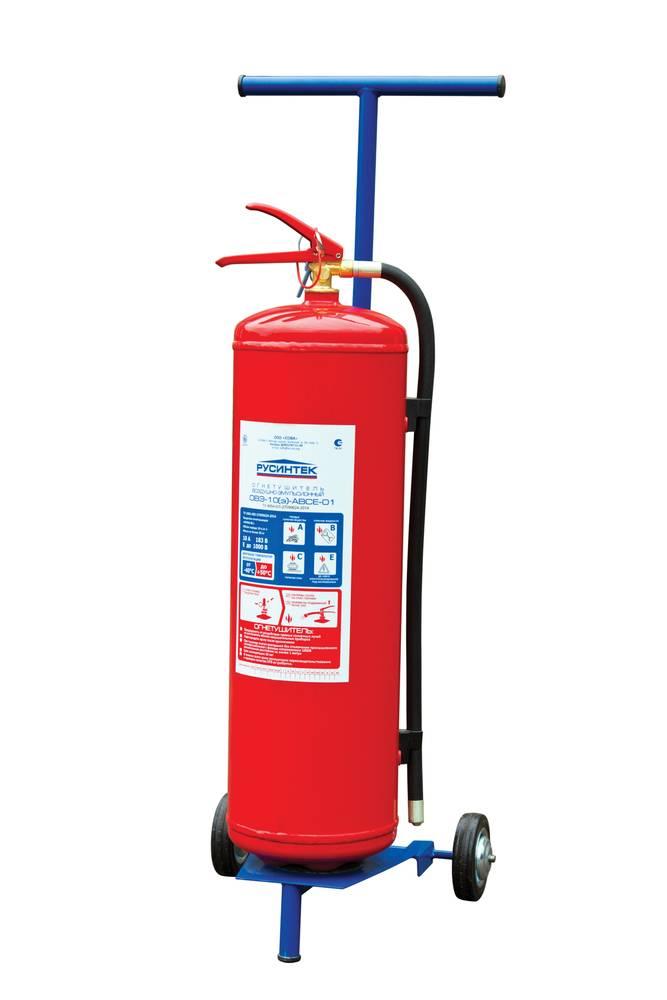 Огнетушитель воздушно-эмульсионный ОВЭ-10