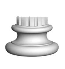 Полуоснование Decomaster 90135-4Н (размер 220х110х130)
