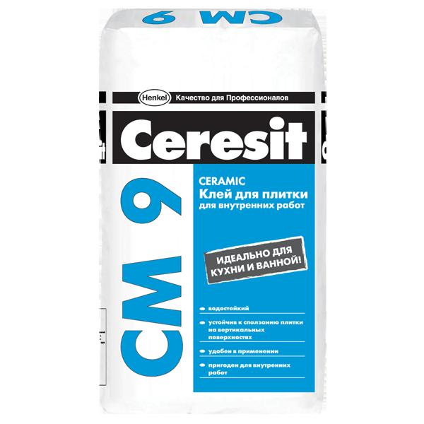 Церезит СМ 9 | Ceresit CM9 плиточный клей, 25кг