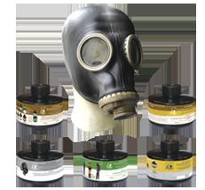 Противогаз промышленный фильтрующий ППФ-95
