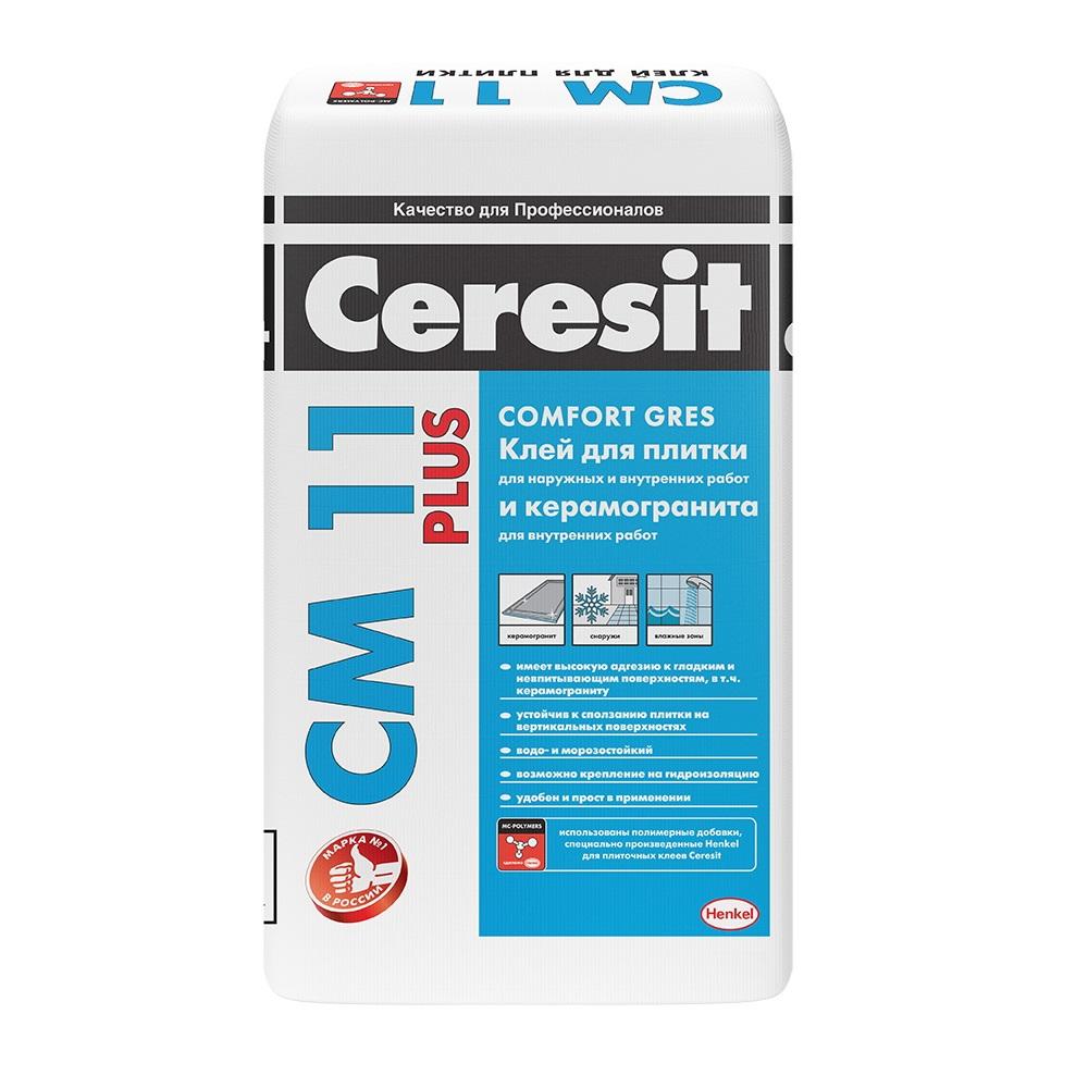 Церезит СМ 11 | Ceresit CM11 плиточный клей, 25кг