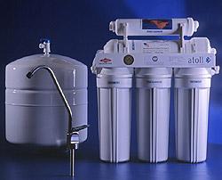 Питьевой фильтр 5 ступ очистки Atoll A-575E (с накопит баком и насосом)