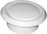 Тарельчатый клапан пластиковый (анемостат) диам125