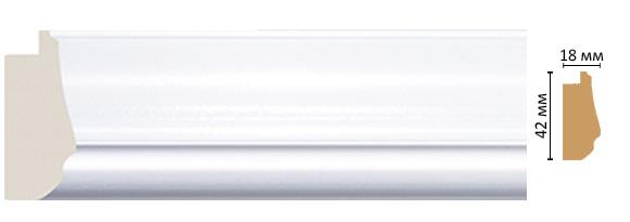Decomaster Багет Decomaster 477-114 (размер 42х18х2900) decomaster багет decomaster 808 552 размер 61х26х2900мм