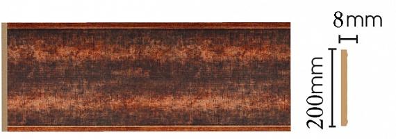 Декоративная панель Decomaster B20-767 (200х9х2400мм)