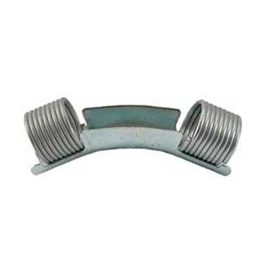 Отвод направляющий 45° с кольцами 25 Rehau