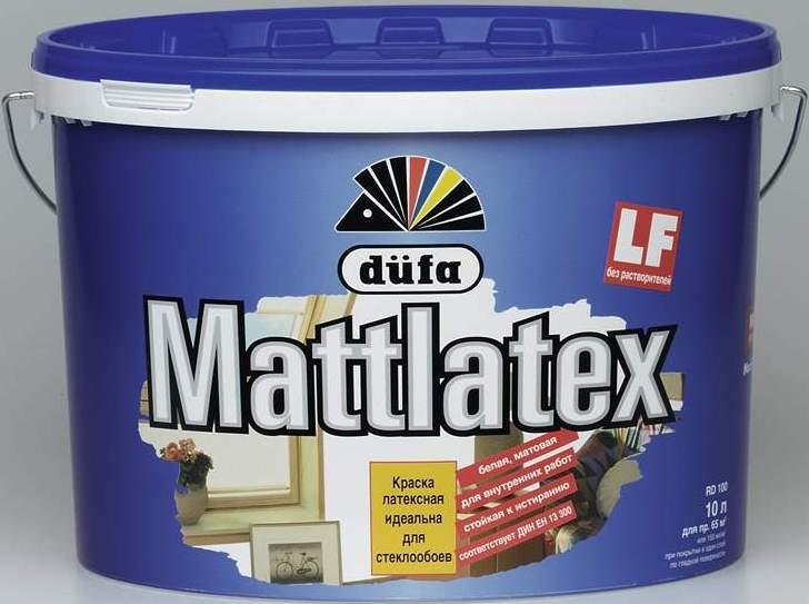 """ДЮФА (Dufa) """"Mattlatex"""" матовая латексная, 10л от Stroyshopper"""