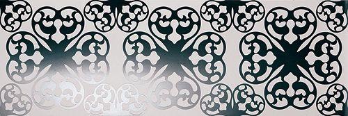 Плитка Fap Oh Ode Bianco Nero Inserto Rt fGSM от Stroyshopper