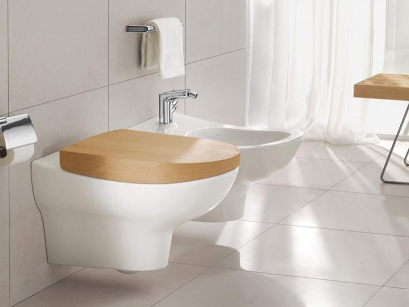 Биде подвесное Villeroy and Boch My Nature Plus 5410 00R1 alpin