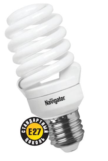 Лампа э/сб Navigator NСL-SF10-20-840-E27 холодный (20Вт)