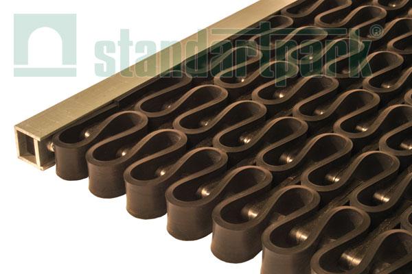 Придверная решетка Волна супер (пласт.соедин.), 400х600