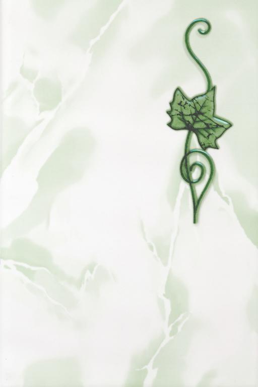 Декор Тибет зеленый 20х30