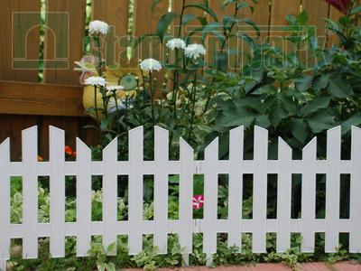 Забор декоративный №4 ЗД-3000.280-ПП пластиковый  белый 8304-Б