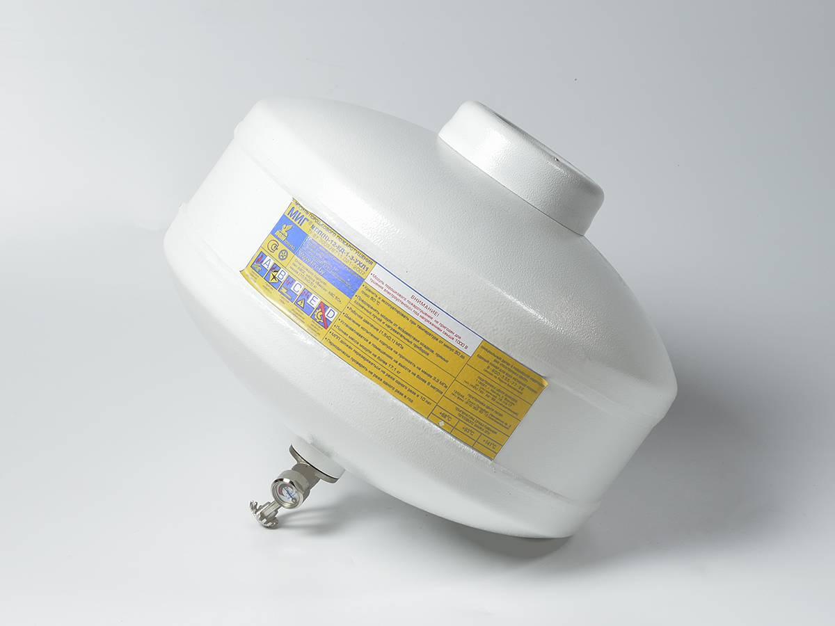 Модуль порошкового пожаротушения МПП-12 МИГ диск