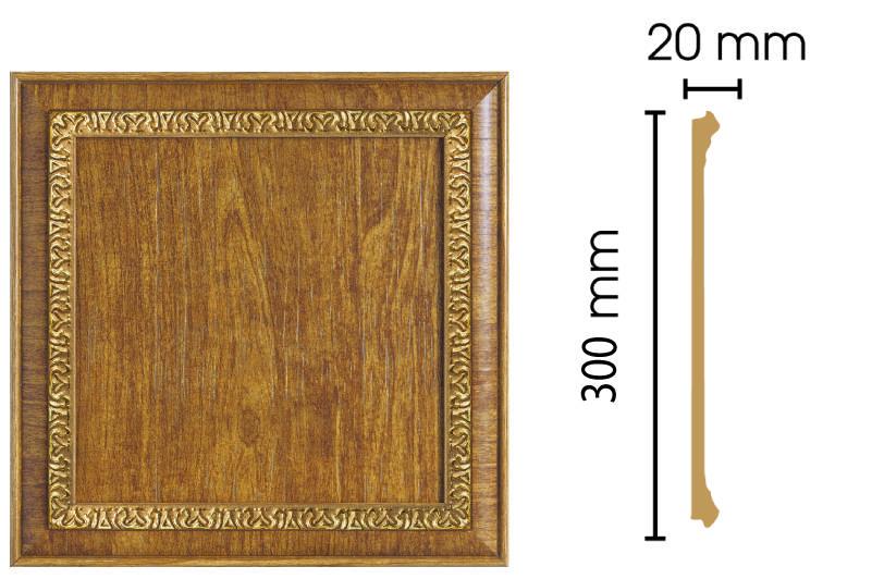 Цветная вставка Decomaster D30-4 (300х300х20)