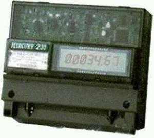 Счетчик электроэнергии Меркурий-231 АT-01 5-60А/380В двухтарифный (на дин рейку)