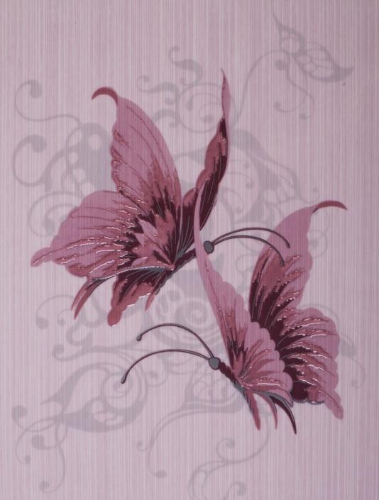 Декор Gracia Ceramica Астерия 04 лиловый 25х33