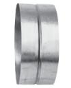 Муфта круглая 160х160 (воздуховод оцинкованный)