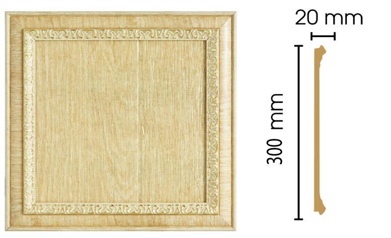 Цветная вставка Decomaster D30-5 (размер 300х300х20)