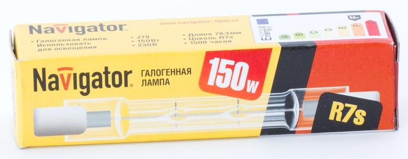 Лампа галогенная NH J78 150W 230v R7