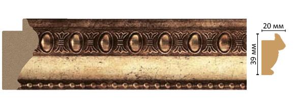 Багет Decomaster 685-126 (размер 39х20х2900)