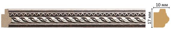 Багет Decomaster 149-956 (размер 17х10х2400)