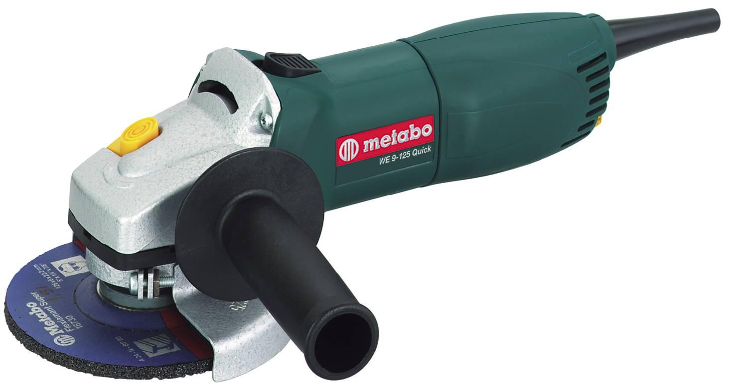 УШМ 125мм Metabo Quick W 9-125 900вт,2.5Нм (болгарка)