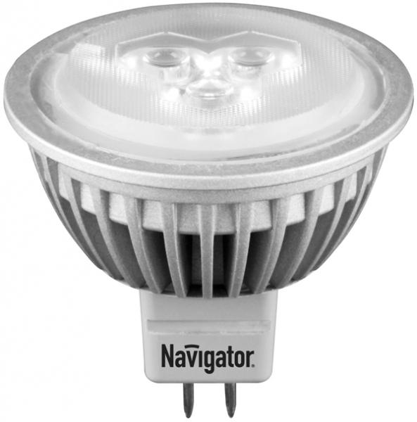 Лампа светодиодная  Navigator MR16-4-12-4k-GU5.3-30D (4 Вт, 12В)