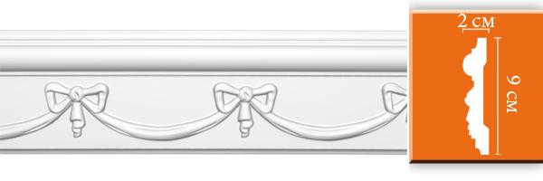 Молдинг с орнаментом Decomaster DT 9864 (размер 20х90х2400)