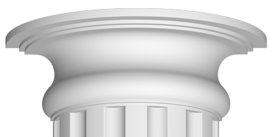 Полукапитель Decomaster 90024-3Н (размер 130х380х190)