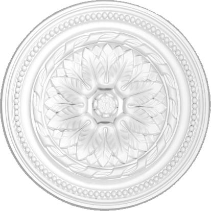 Розетка  Decomaster DM 0401 (размер O 408  h=64)