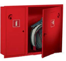 Шкаф пожарный Пульс ШПК-315ВЗК встраиваемый закрытый красный