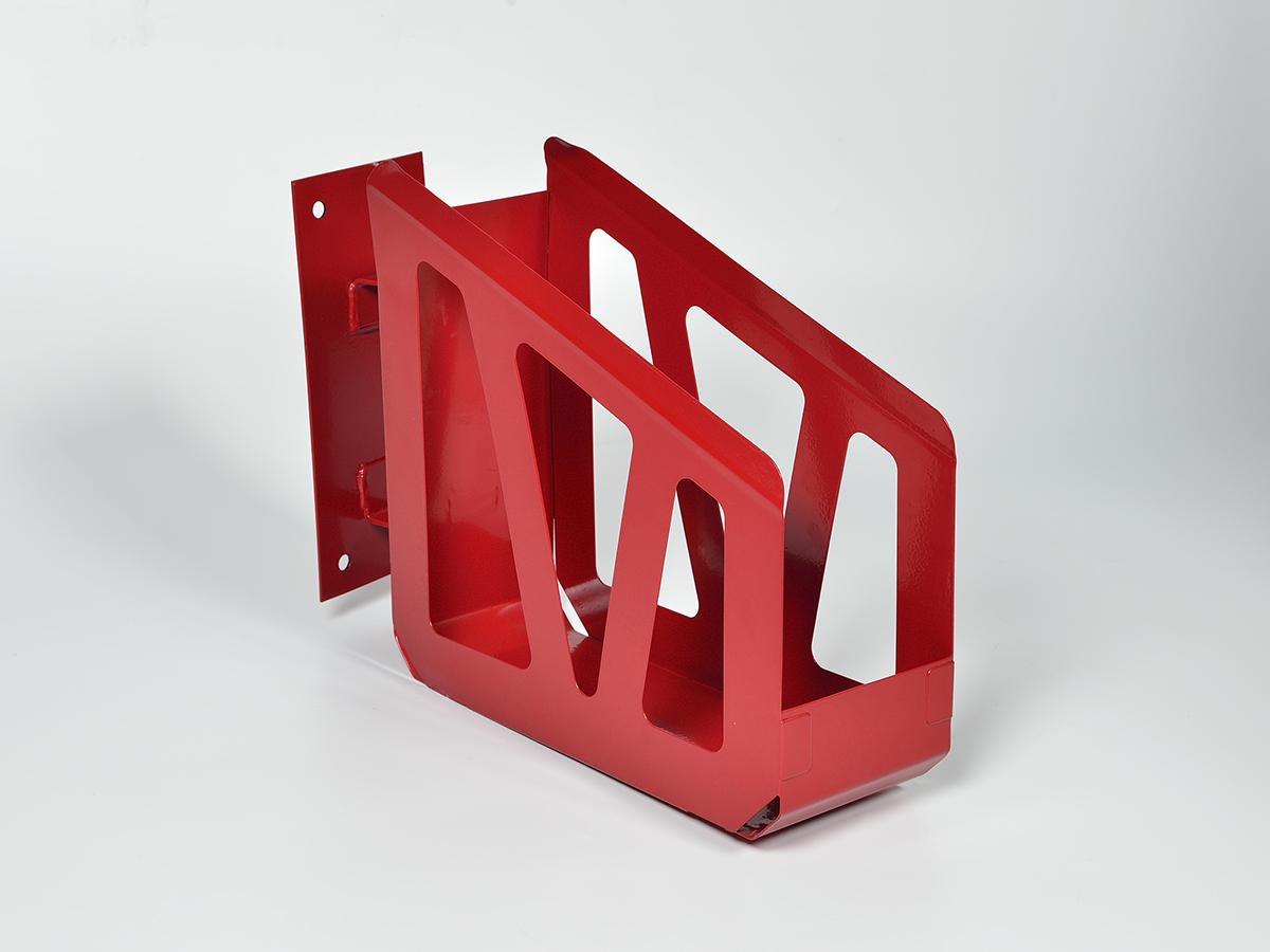 Корзина настенная для пожарного рукава с кронштейном поворотная