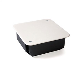 Коробка распаячная 100х100х45мм для скрытой проводки для ж/б стен
