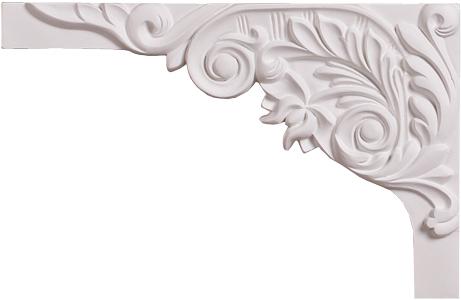Декоративный элемент Decomaster для оформления ступеней 66203L