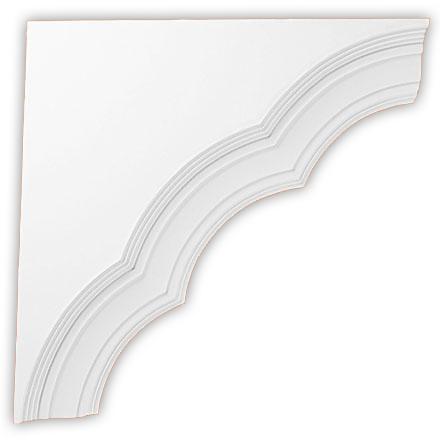 Угол декоративный Decomaster DCB 374 (размер 480х480х60)