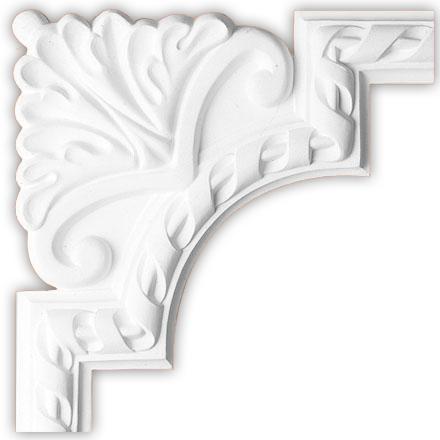 Угол декоративный Decomaster 98061-1 (размер 240х240х18)