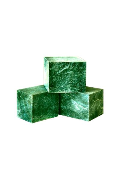 Камни для печей - нефрит, 10 кг