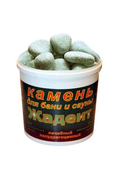 Камни для печей - жадеит шлифованный, 5 кг